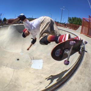 Rob Locker putting the Brannon Signature Model to good use. Prescott Park 7-10-2016 Photo: McCabe
