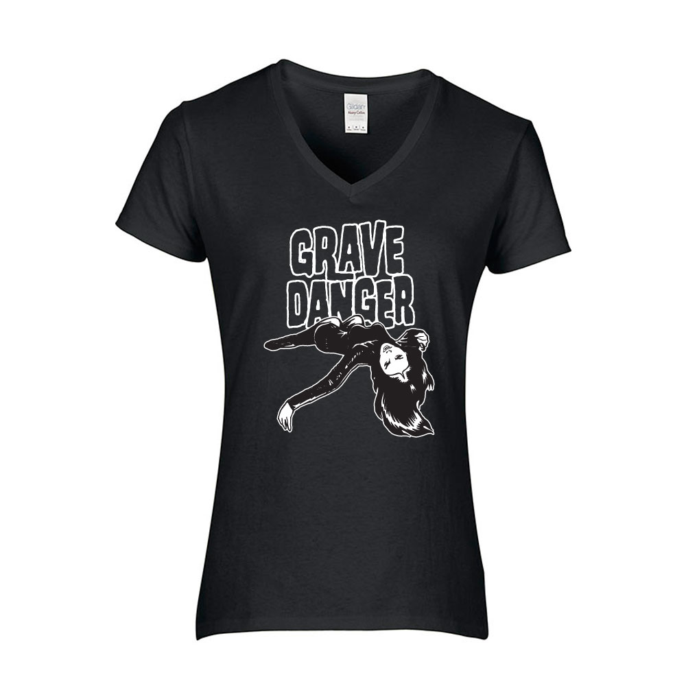 Grave Danger Ladies T-shirt