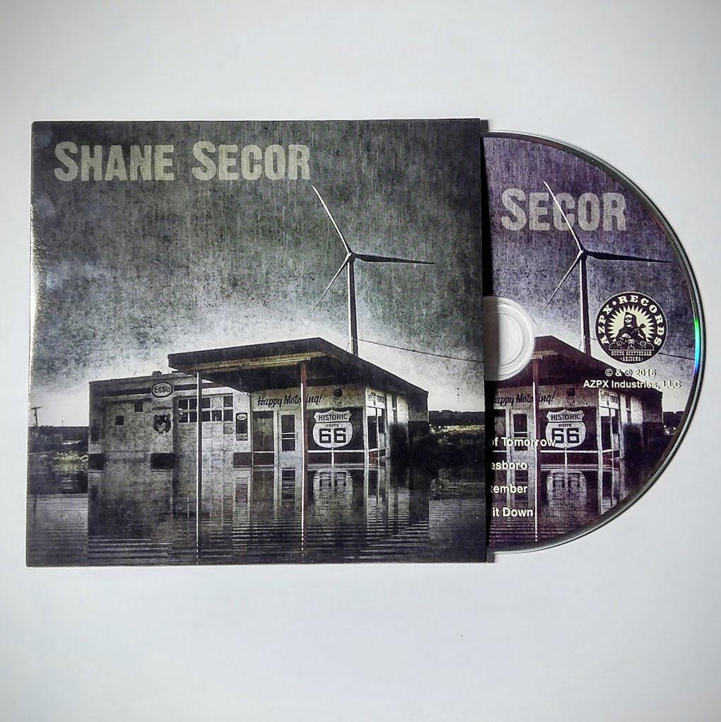 Shane Secor Self Titled EP CD Package