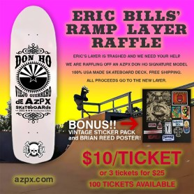 Eric Bills Ramp Layer Raffle