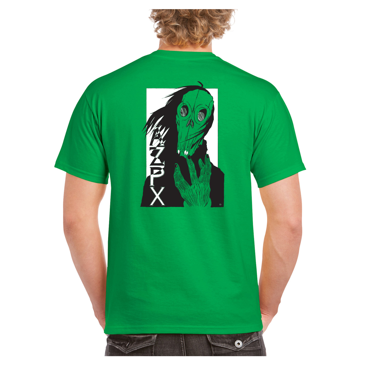 Drake Hendrix x AZPX Collaboration T-shirt Green