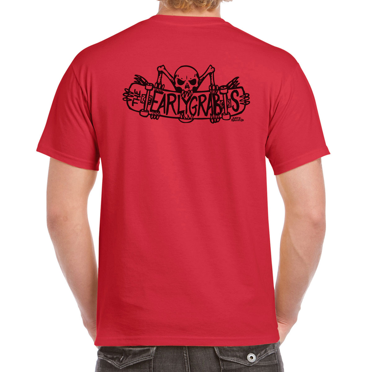 The Earlygrabs Red T-shirt