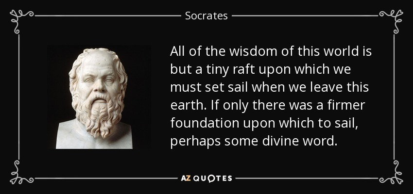 Image result for socrates tiny raft images