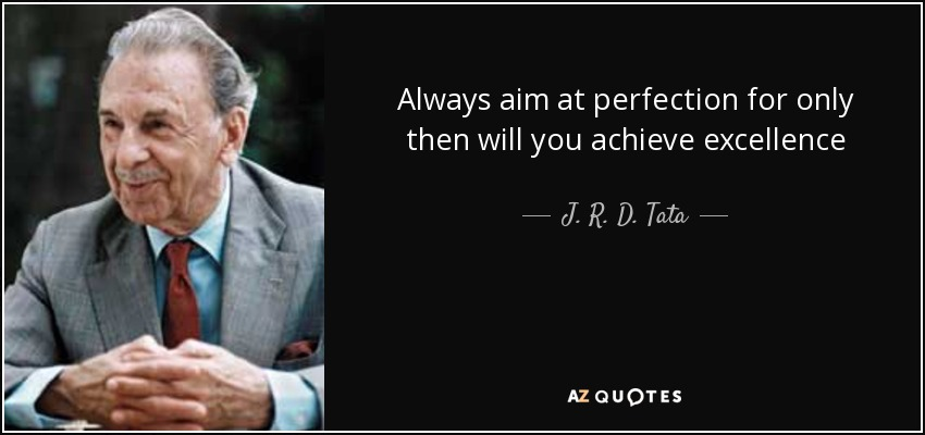 Military Excellence Quote Wallpaper Top 20 Quotes By J R D Tata A Z Quotes