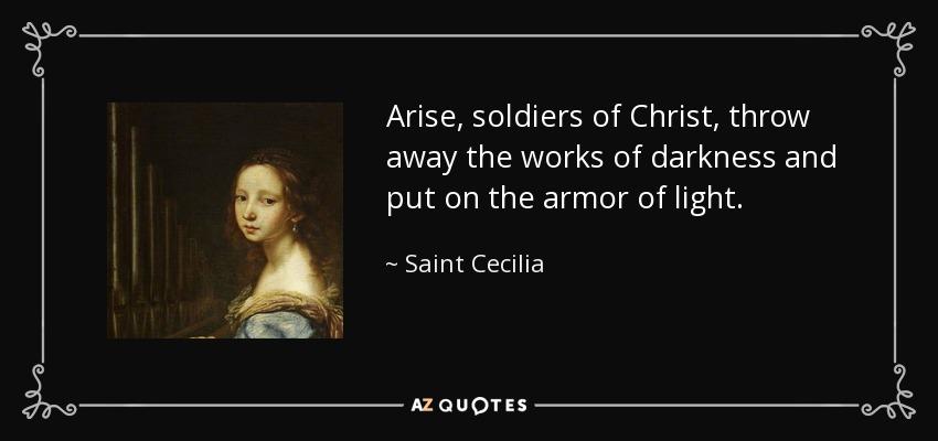 The Big Christian Family November 22 St Cecilia 230