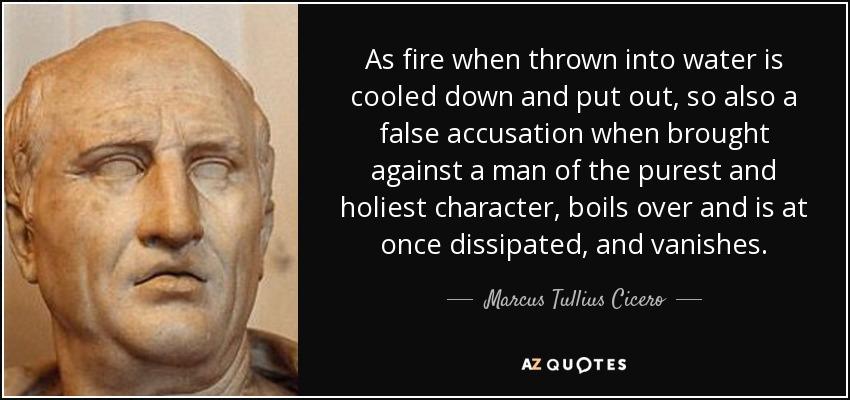 TOP 23 FALSE ACCUSATION QUOTES  AZ Quotes
