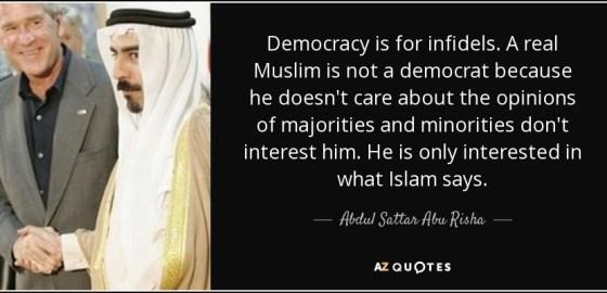 Afbeeldingsresultaat voor islam democratic