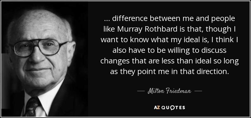 Milton Friedman Quotes Extraordinary FRIEDMAN FRIDAY Milton Friedman's Best Quotes Part 48 The Daily Hatch