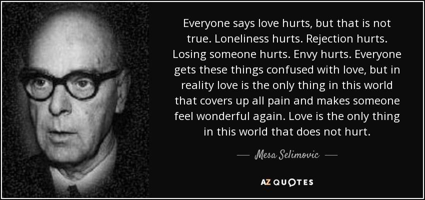 Mesa Selimovic Love Hurts
