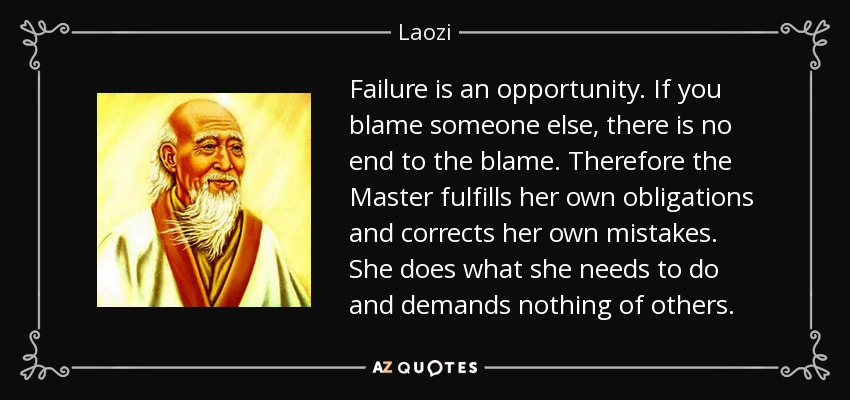 Image result for blaming others for your own failures