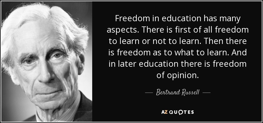 Image result for bertrand russell on Education QUOTE
