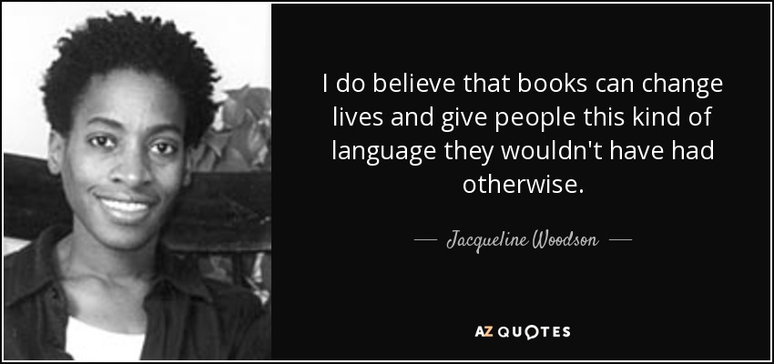 Jacqueline Woodson – Author of the Month – City-As Reads