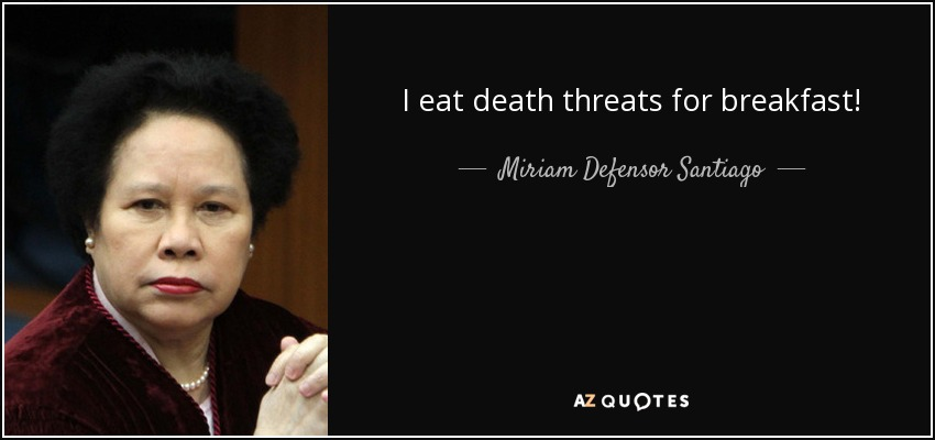 Image result for miriam santiago