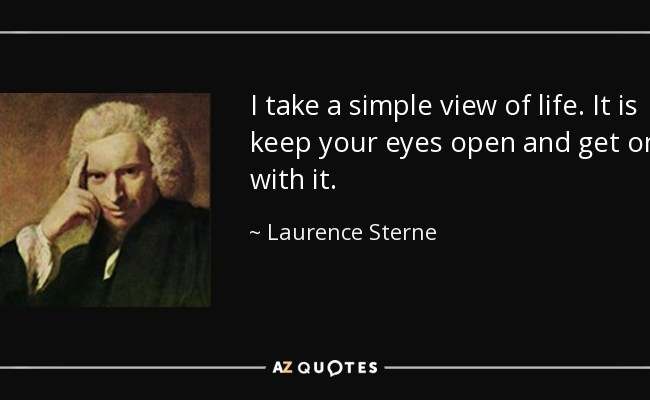 Top 25 Quotes By Laurence Sterne Of 217 A Z Quotes