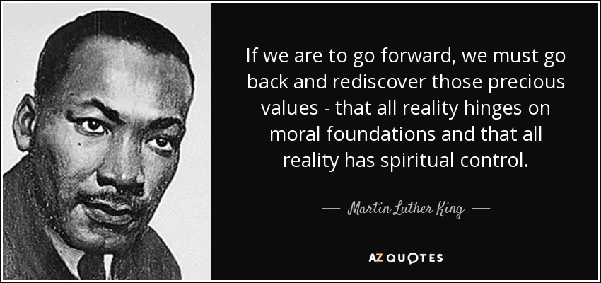 Image result for mlk quotes spiritual values