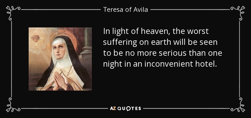 Image result for st teresa of avila quotes