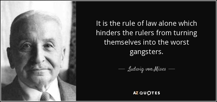 Image result for quote on rule of law