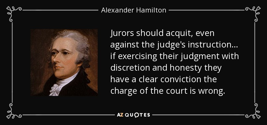 Image result for quotes on jury nullification