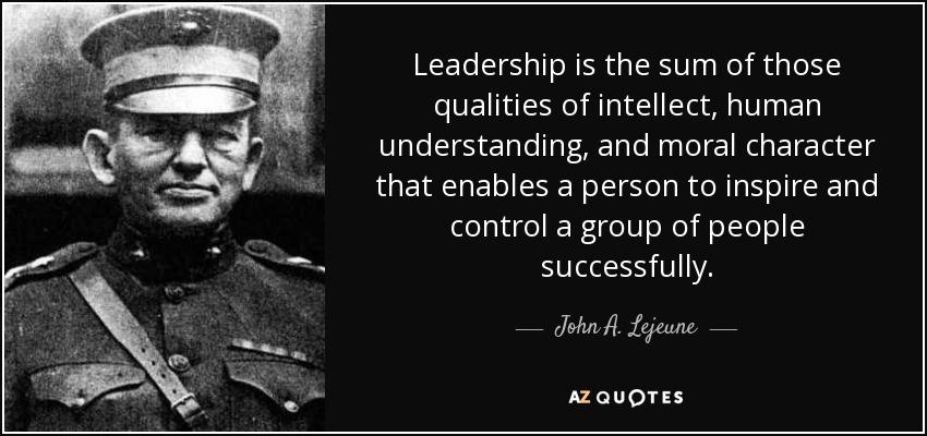general george s patton leadership traits Traits of a leader  free leadership training tutorials articles leadership resources general george s patton.