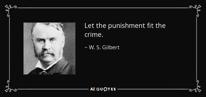 Hasil gambar untuk punishment fit the crime