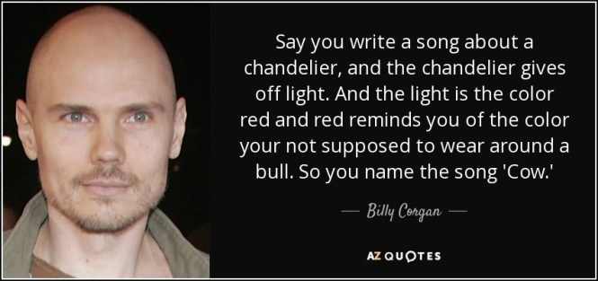 Say You Write A Song About Chandelier And The Gives Off Light