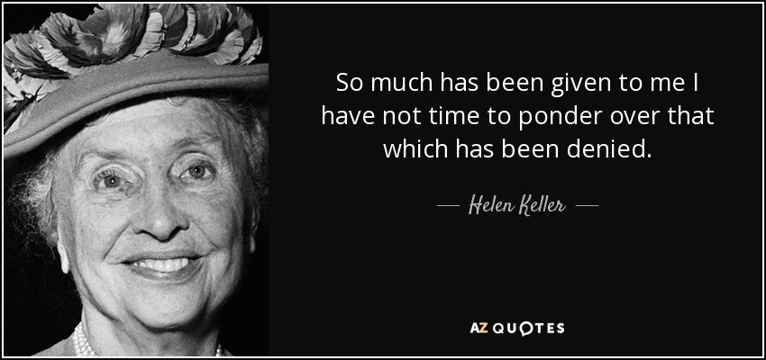 TOP 25 QUOTES BY HELEN KELLER (of 456) | A-Z Quotes