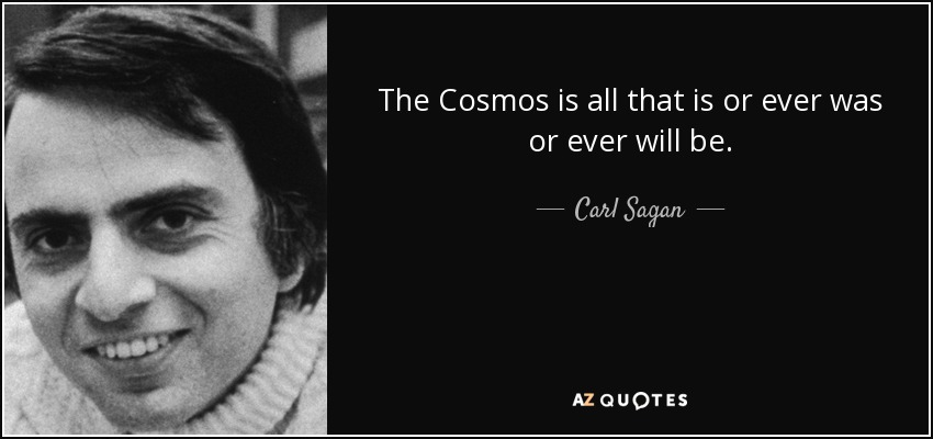Image result for carl sagan quotes universe all there ever was images