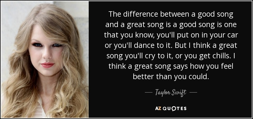 taylor swift quote the