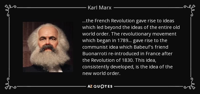 karl marx quote the