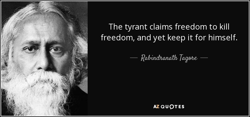Image result for quotes about tyrants