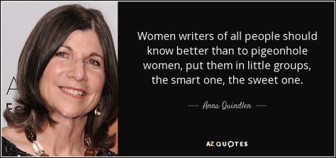 Image result for quote  pigeonhole writer