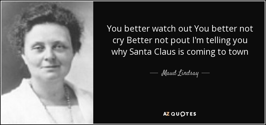 maud lindsay quote you