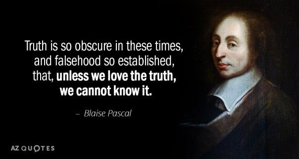 Image result for blaise pascal quotes