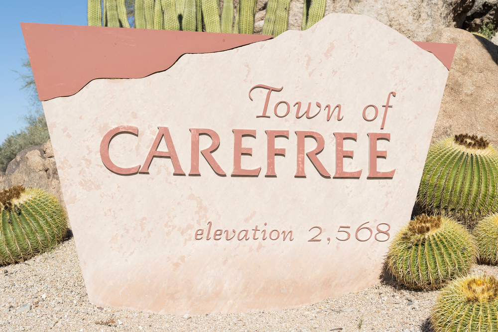 Town Of CareFree Arizona
