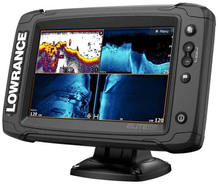 Rybrske sonary LOWRANCE Elite9 Ti2  bez sondy  AZ