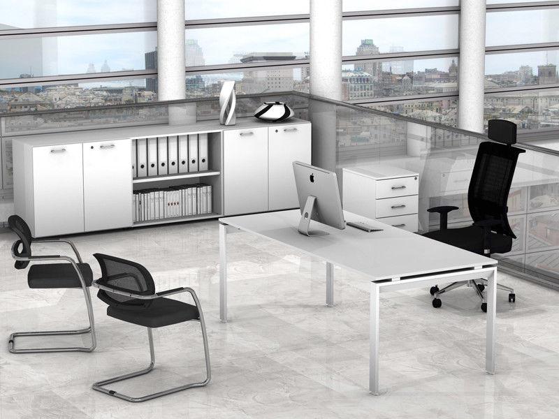 Arredo ufficio direzionale cassettiera mobile scrivania for Arredo ufficio direzionale