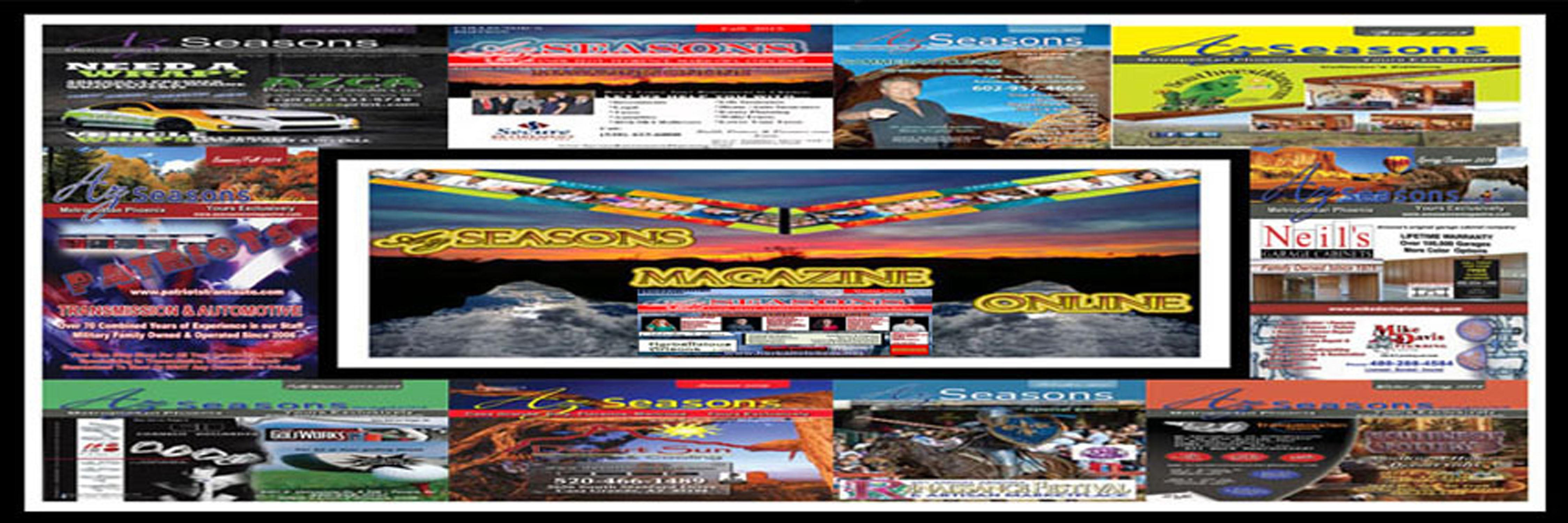 AZ SEASONS MAGAZINES ONLINE ARIZONA ONLINE MAGAZINES PUBLISH, POST