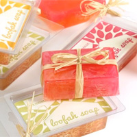 Make Your Own Melt-and-Pour Loofah Soaps