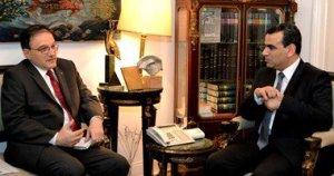 وزير الثقافة المصري يناقش مع سفير أرمينيا سبل التعاون الثقافي بين أرمينيا ومصر وإقامة أيام الثقافة الأرمنية بمصر