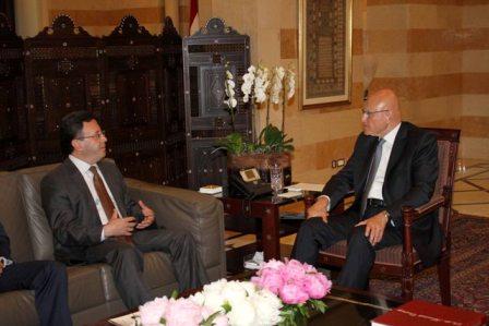 2016 5 6 - الرئيس سلام يستقبل سفير أرمينيا سامفل مكرتشيان_014133