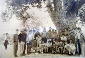 Պատանեկան միութեան արշաւ` Էսկիւրենի ծառին տակ - 1971