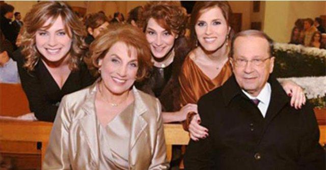 Զօր. Աուն իր ընտանիքին հետ