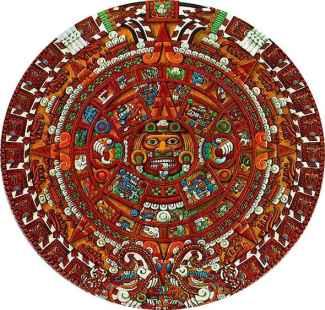 Aztec Calendar Stone