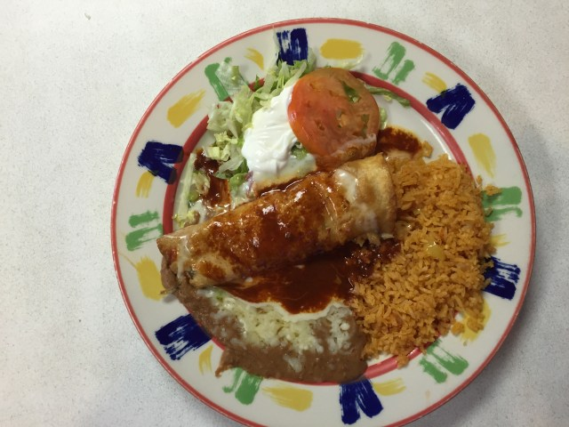 Lunch #6 Chimichanga