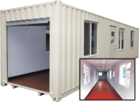 40ft Shipping Container Office | Mobile Office | Aztec ...