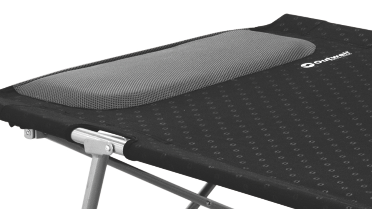 double camping chairs folding office chair air cylinder fix outwell posadas camp bed - aztec leisure