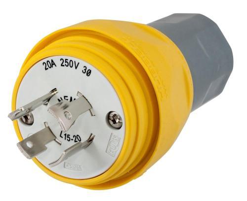 small resolution of plug w tight 3p 20a 250v l15 20p yl