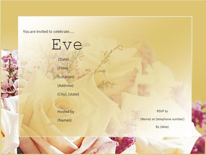 Engagement Invitation Cards Templates Free – Engagement Invites Templates Free
