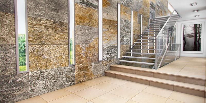 Proyectos que nos inspiran materiales que nos acercan a - Fachada ventilada piedra natural ...