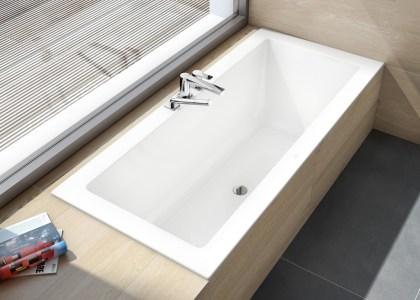 Una bañera para espacios reducidos